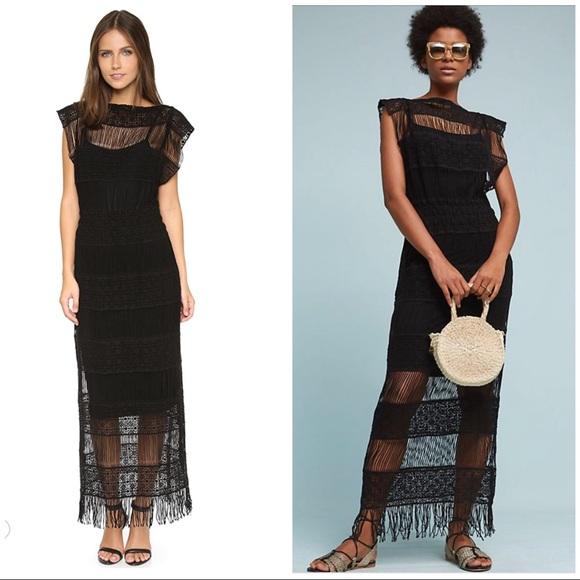f8ce641ae248 Anthropologie Dresses   Callahan Amelia Crochet Maxi Dress   Poshmark